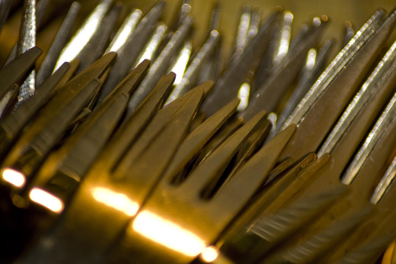Een heleboel vorken